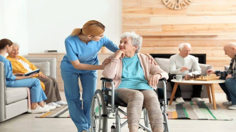 When to put an elderly parent into a nursing home