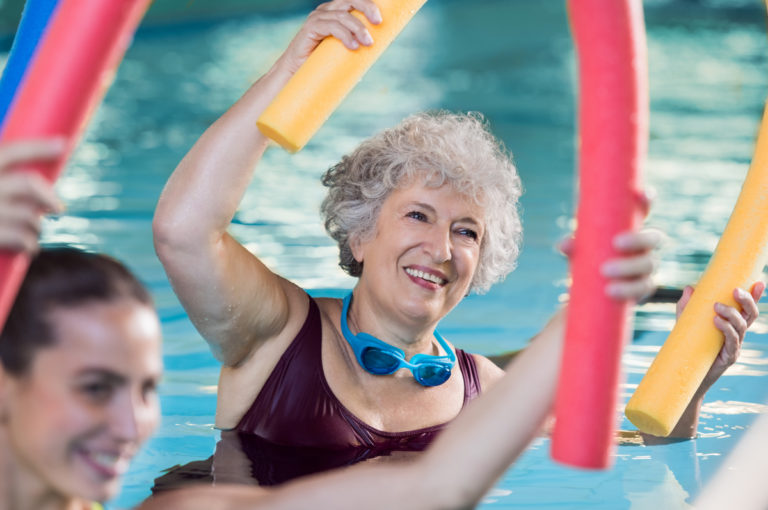 List Of Water Aerobics Exercises For Seniors